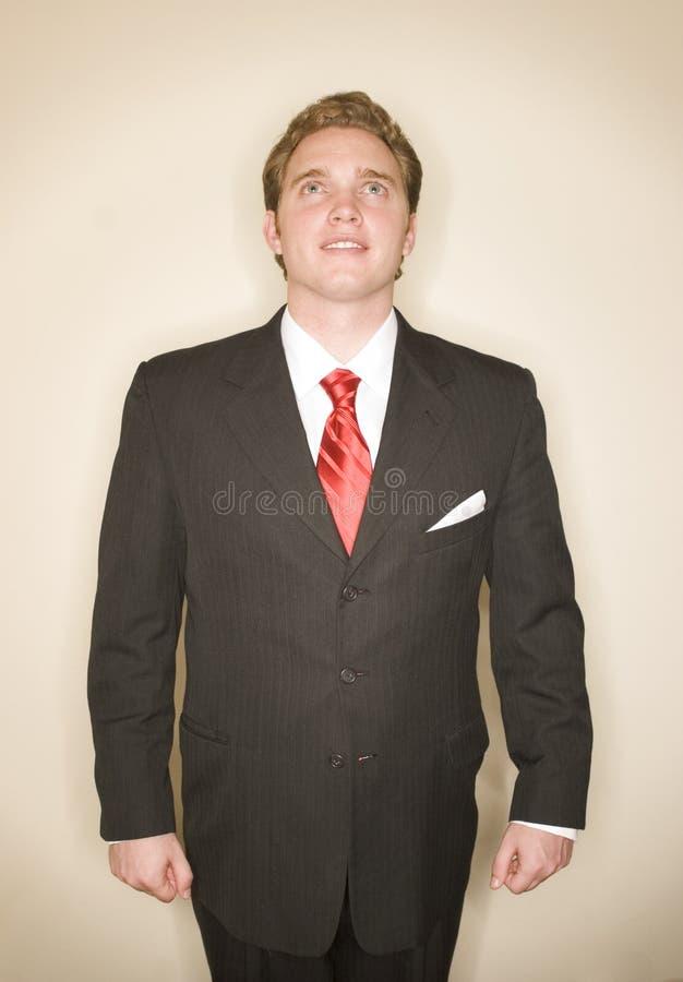 mannen för affär 8 poserar ström arkivfoton