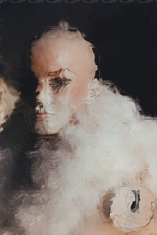 mannequin stock illustratie