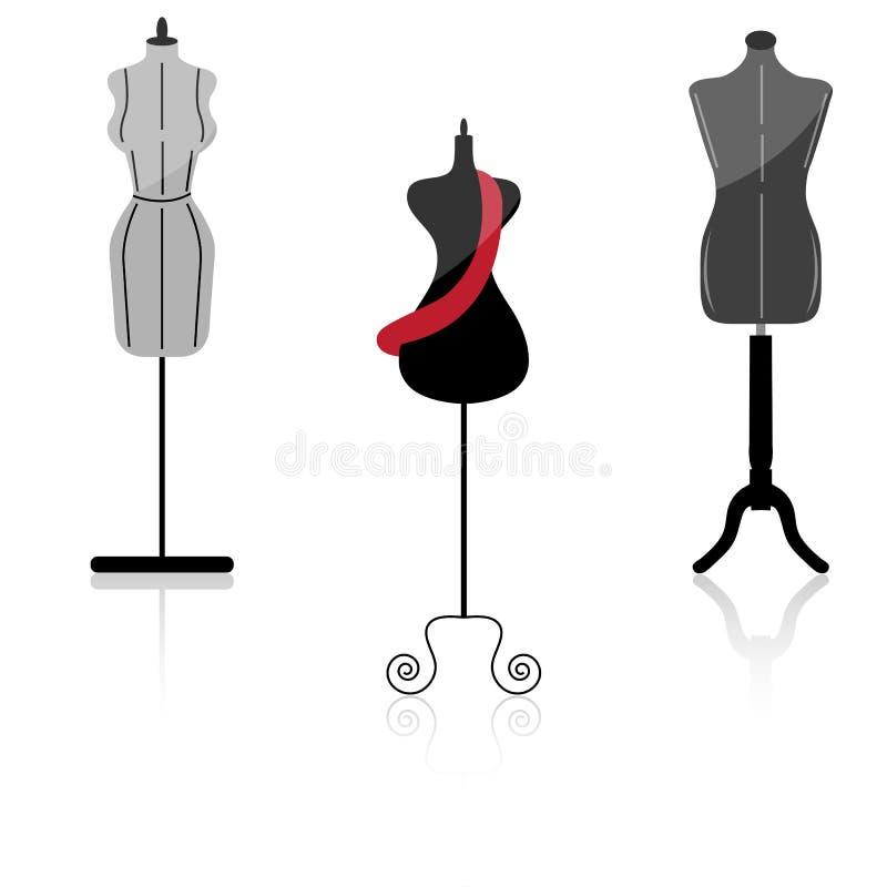 Mannequin royalty illustrazione gratis