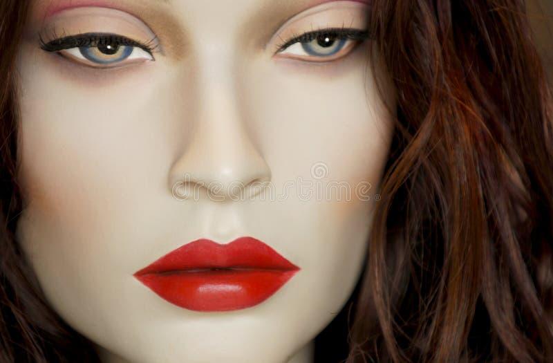 Mannequin. Closeuo portrait of a retail store Mannequin [Not Human stock images