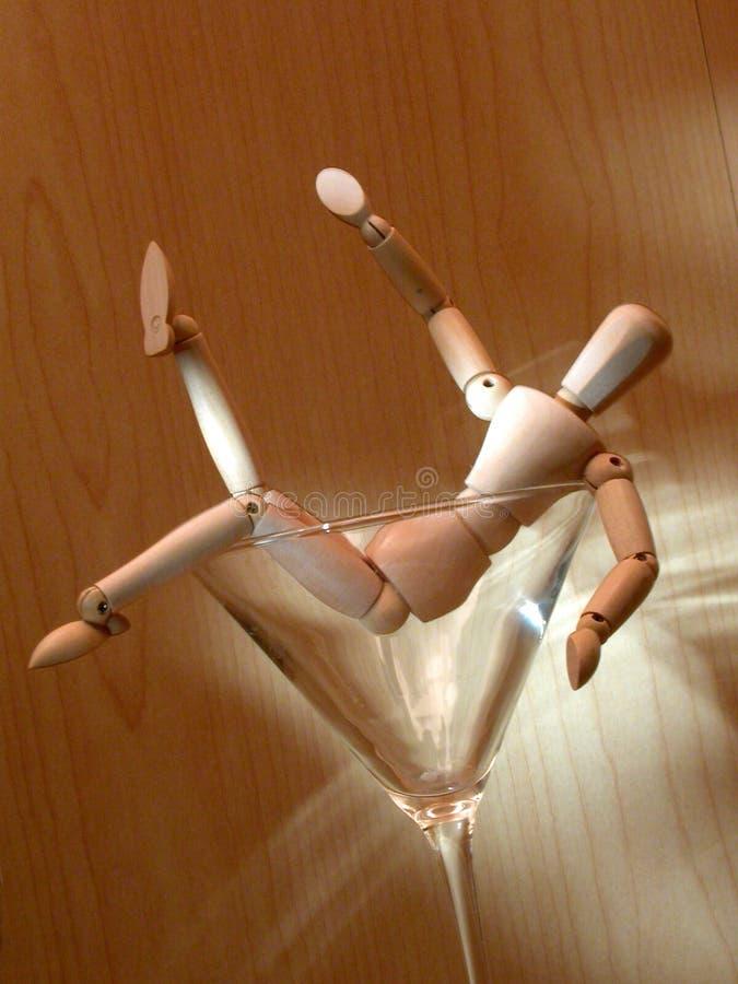 Mannequin 4 betrunken stockfotos