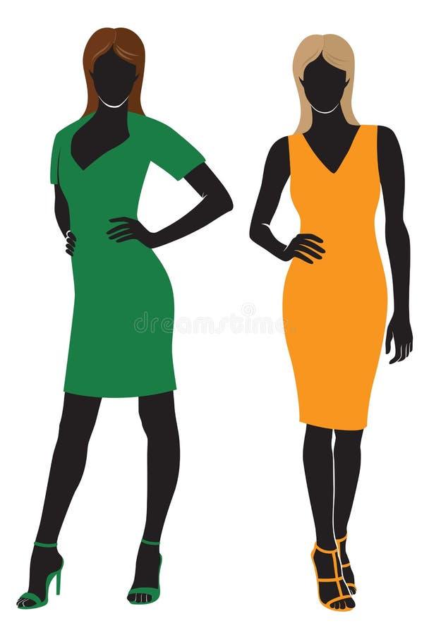 mannequin royalty ilustracja