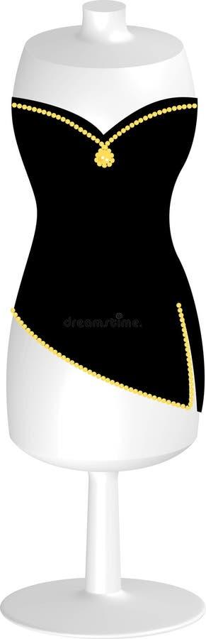 Download Mannequin stock abbildung. Illustration von diamant, formular - 854045