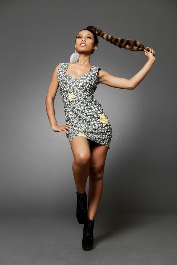 mannequin Africain-américain. photo stock