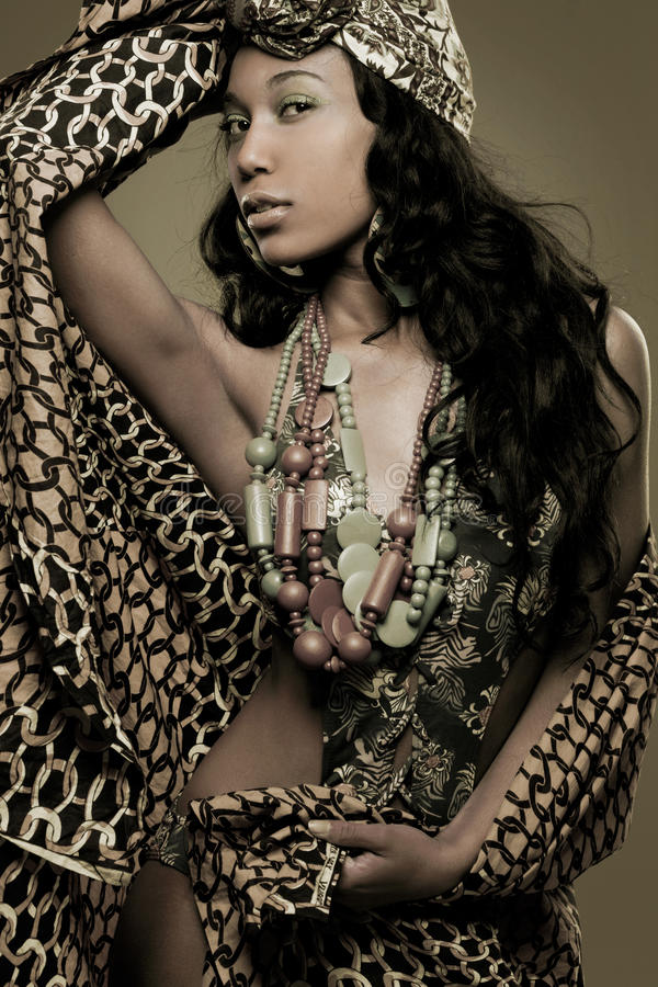 mannequin Africain-américain. photo libre de droits