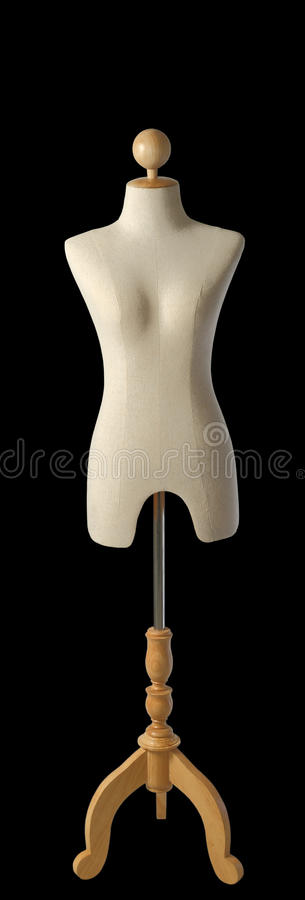 A mannequin on black. In thailand stock photography
