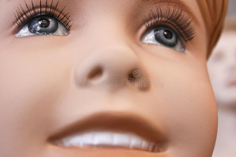Mannequin Child royalty free stock image