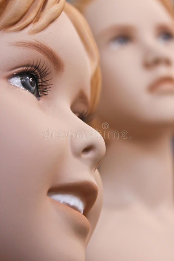 Download Mannequin Children Royalty Free Stock Image - Image: 10765496