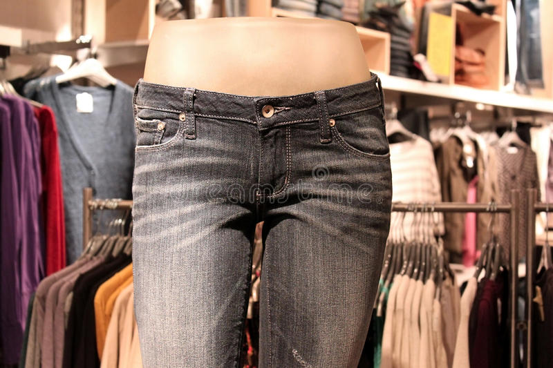 Download Mannequin In A Clothing Retail Store Royalty Free Stock Images - Image: 16820219