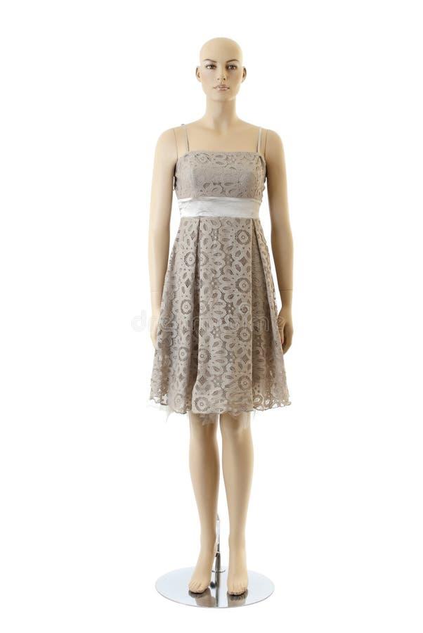 Mannequin dans la robe | D'isolement image stock