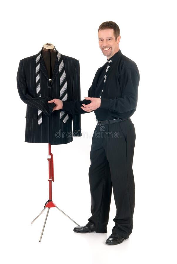 Mannequin de couturier d'homme, photographie stock