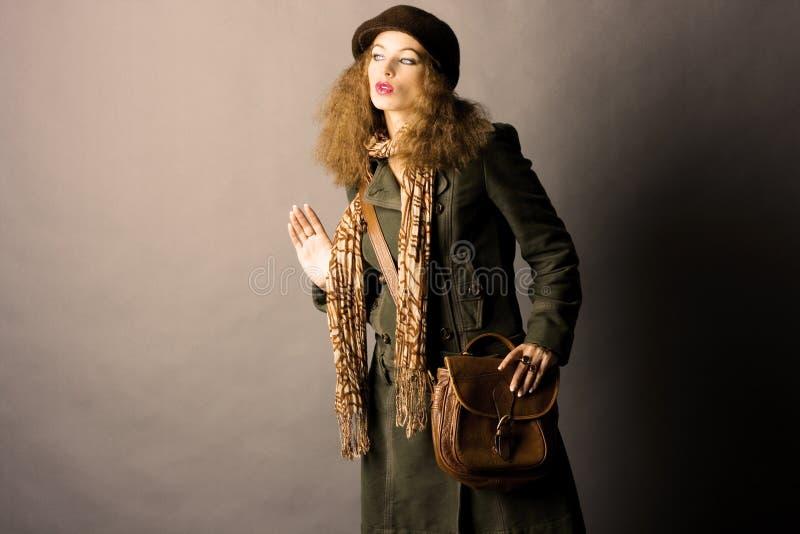 Mannequin in de herfst/de winterkleren royalty-vrije stock foto