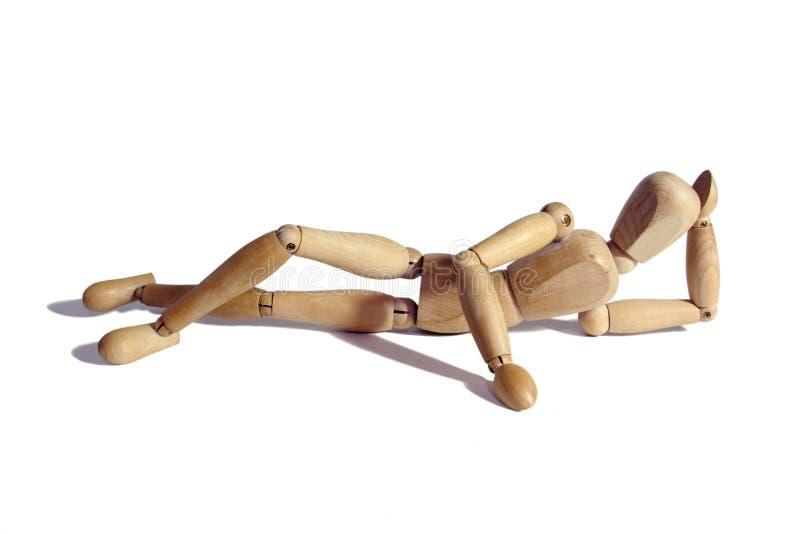 Mannequin de madeira fotos de stock royalty free