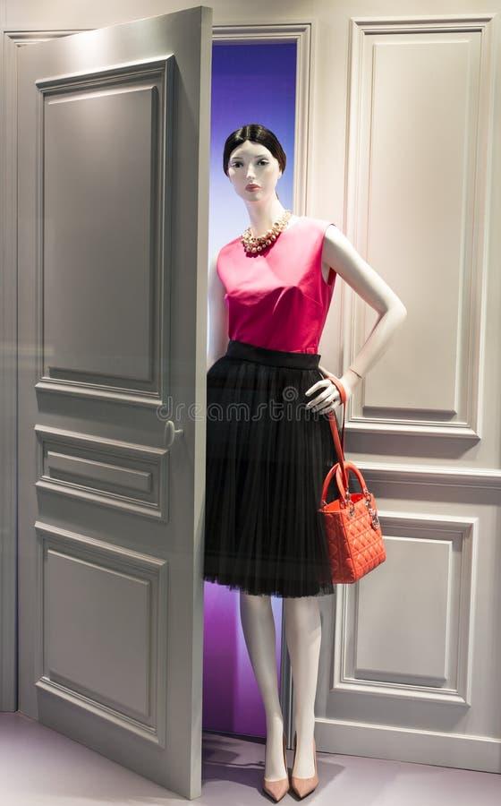 Mannequin de mode photographie stock
