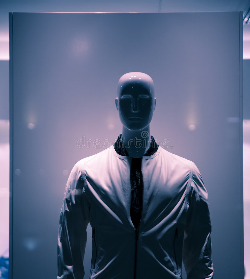 Mannequin in der Jacke stockfotografie