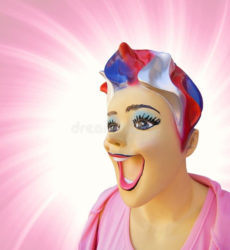 Mannequin drôle photos libres de droits