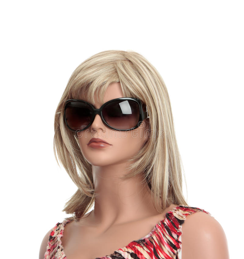 Mannequin Dummy. Dressed in retail fashion stock image