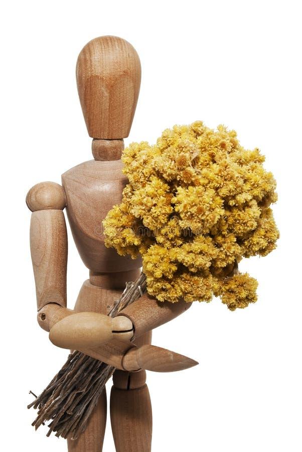 Mannequin en bois photo libre de droits