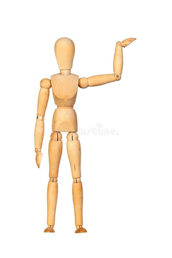 Mannequin en bois joint photographie stock libre de droits
