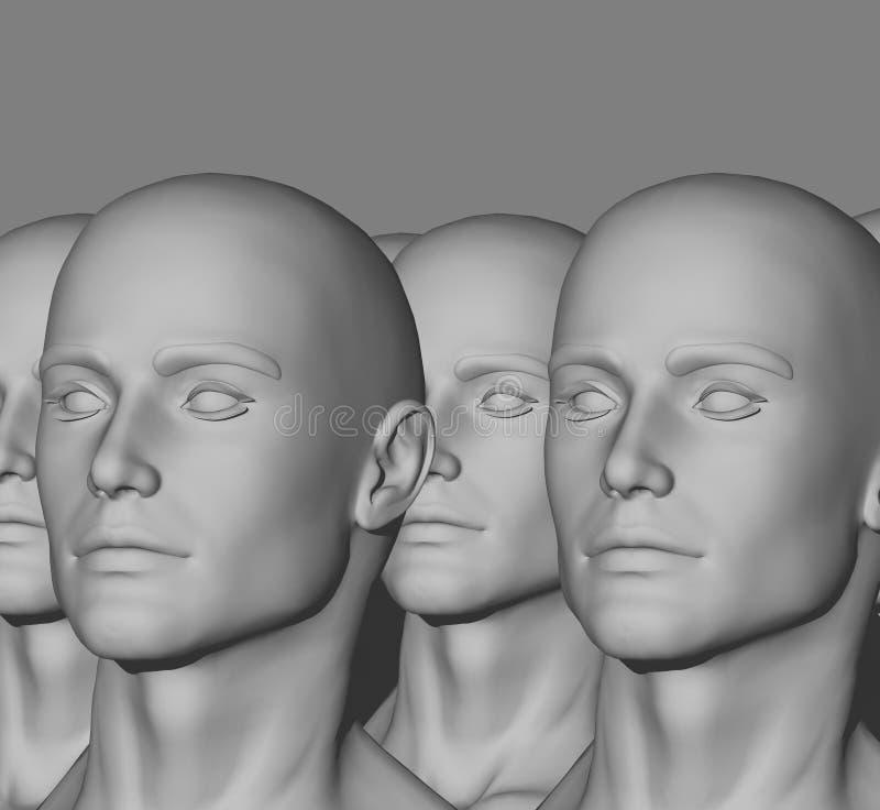 Mannequin-Fabrik lizenzfreies stockbild