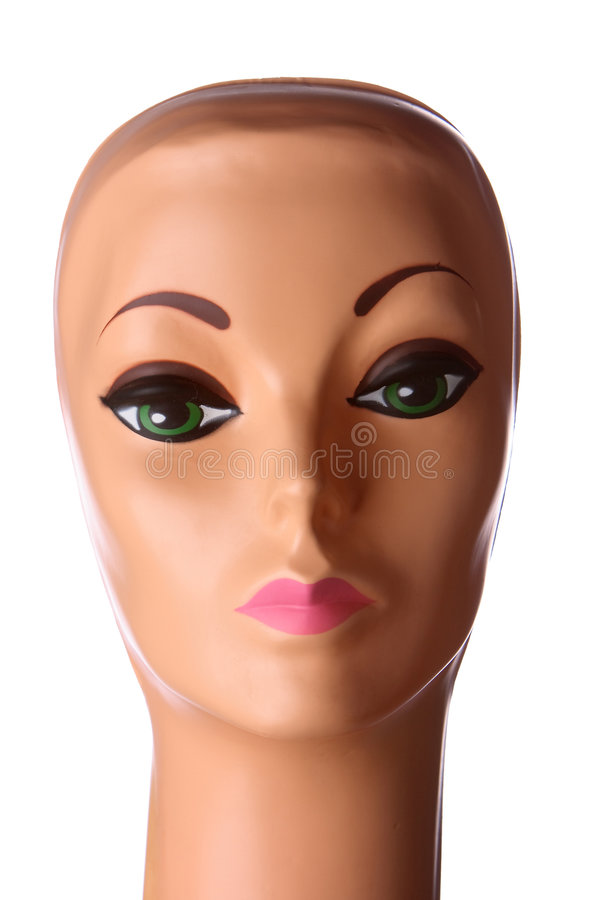 Mannequin face stock image