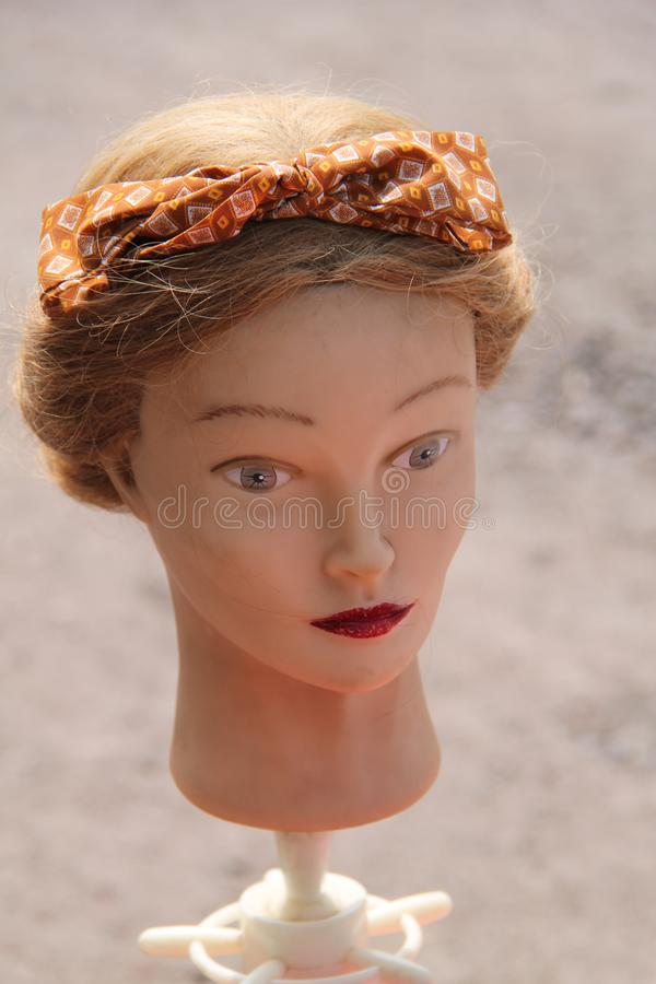 Mannequin Female Head. royalty free stock photos