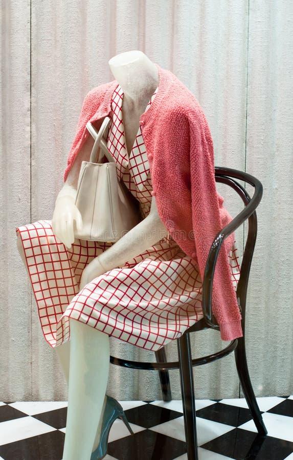 Mannequin femelle de mode photo libre de droits