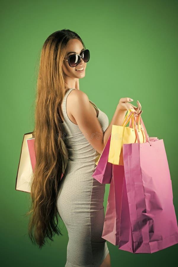 Mannequin Girl de beauté Regard de mode Black Friday, célébration de vacances photos libres de droits