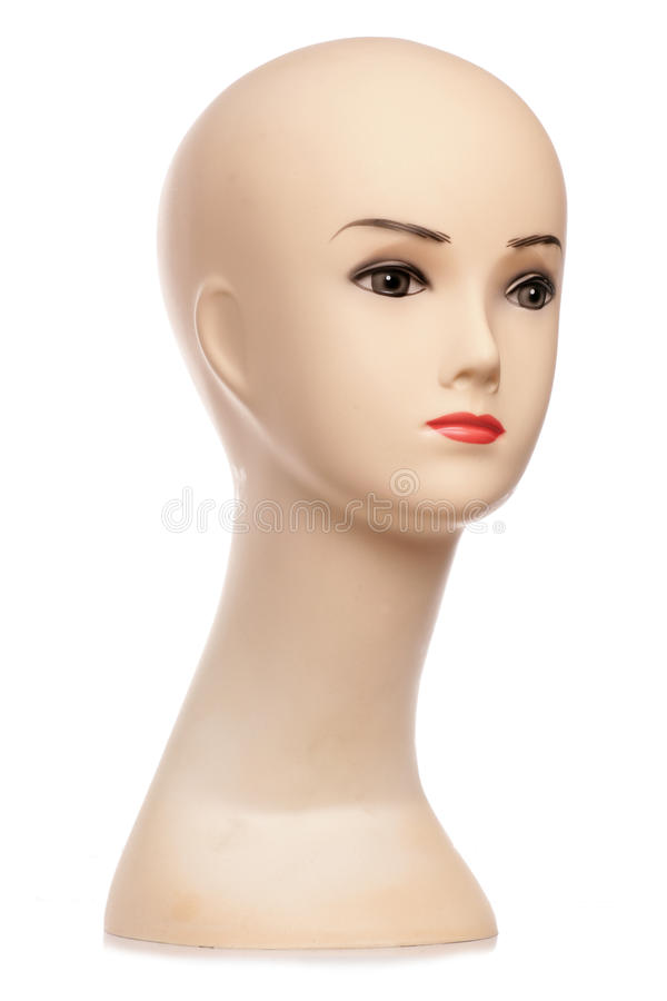 Download Mannequin head stock photo. Image of bust, cutout, studio - 19997366