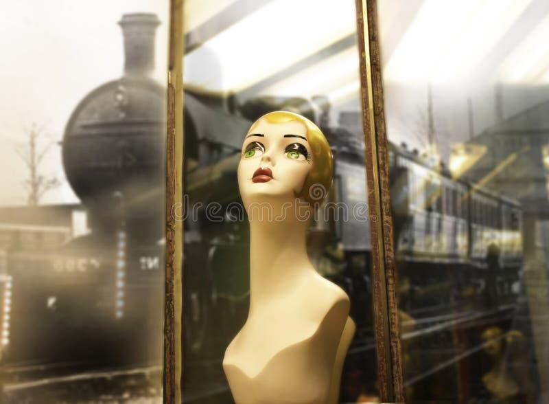 Download Mannequin head stock image. Image of mannequin, vintage - 21370671