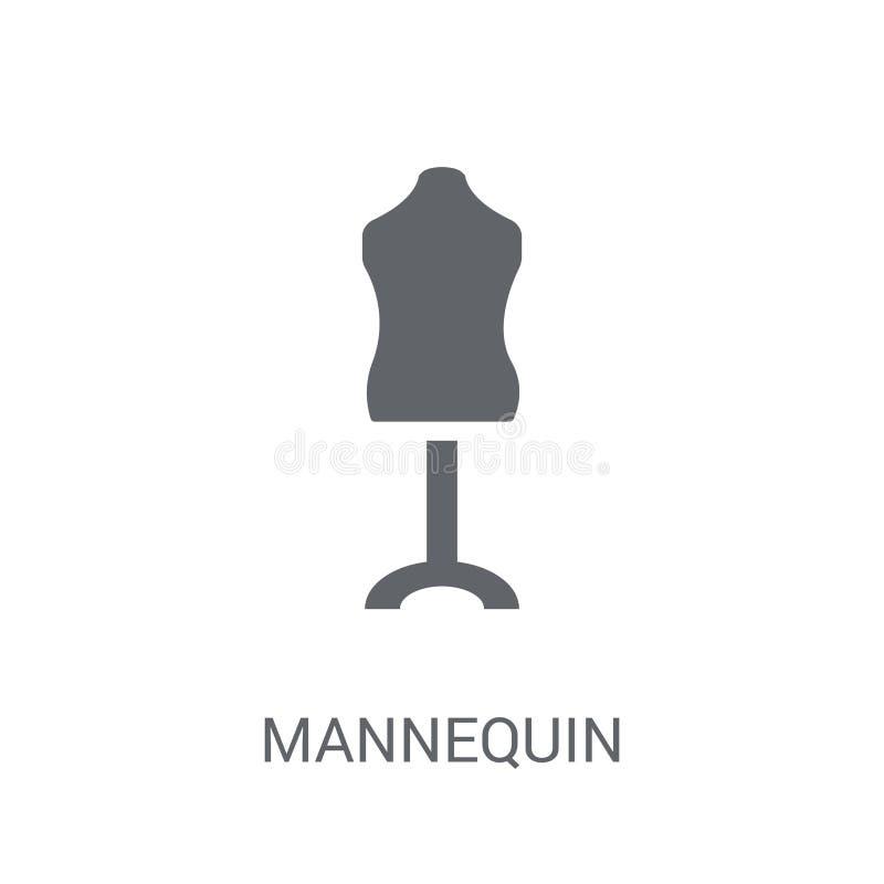 Mannequin ikona  ilustracja wektor