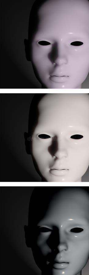 Mannequin mit Plastikoberfläche stockfotos
