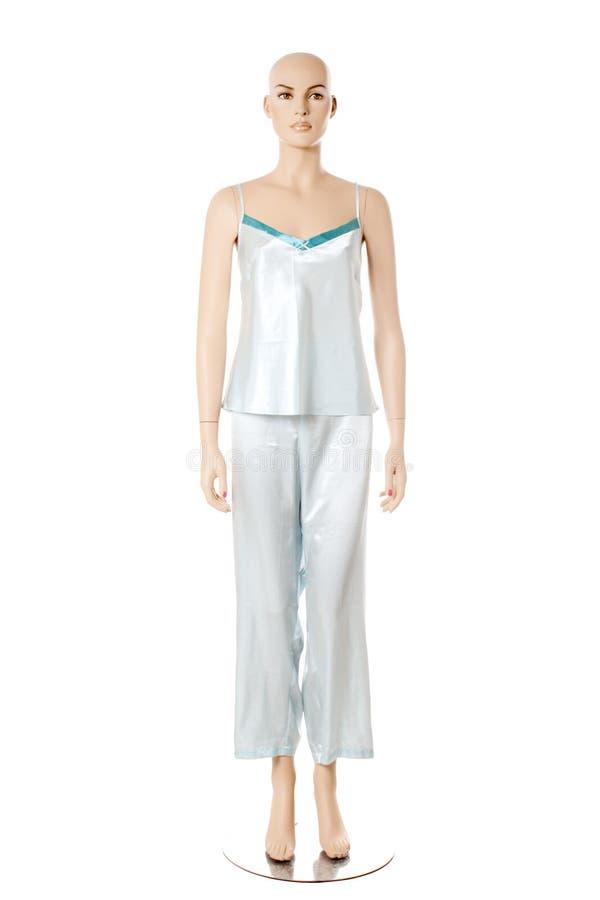 Mannequin no nightwear | Isolado fotos de stock royalty free