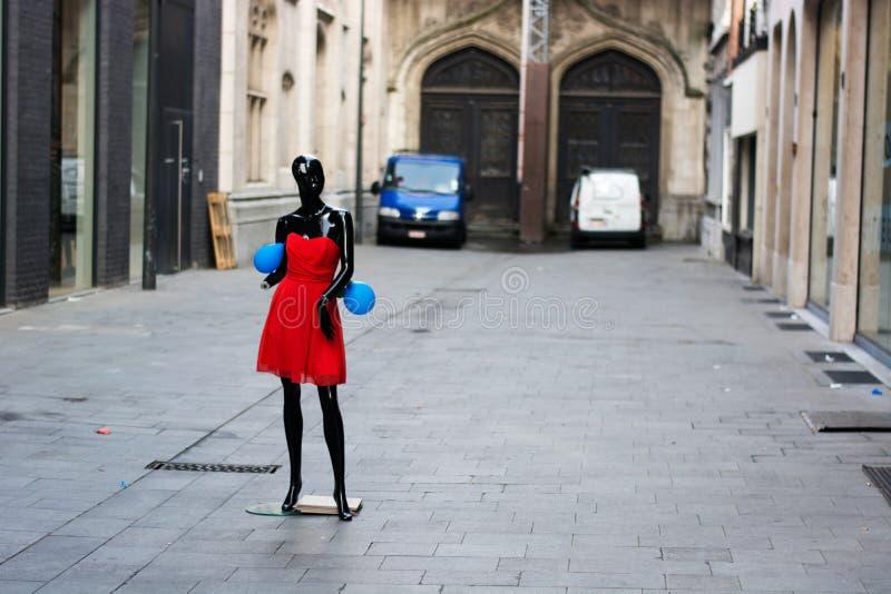 Mannequin noir photos libres de droits