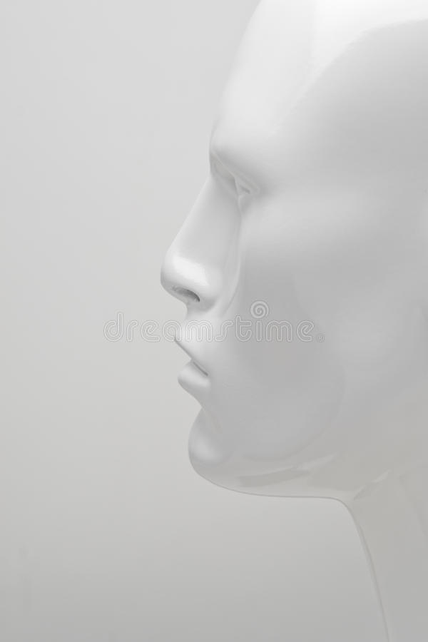 Mannequin Profile royalty free stock images