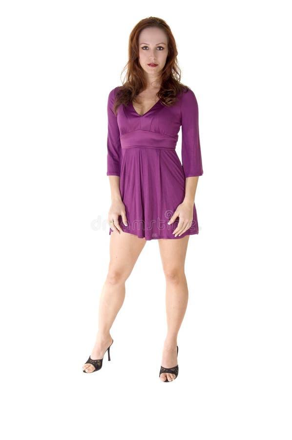 Mannequin in Purple stock foto