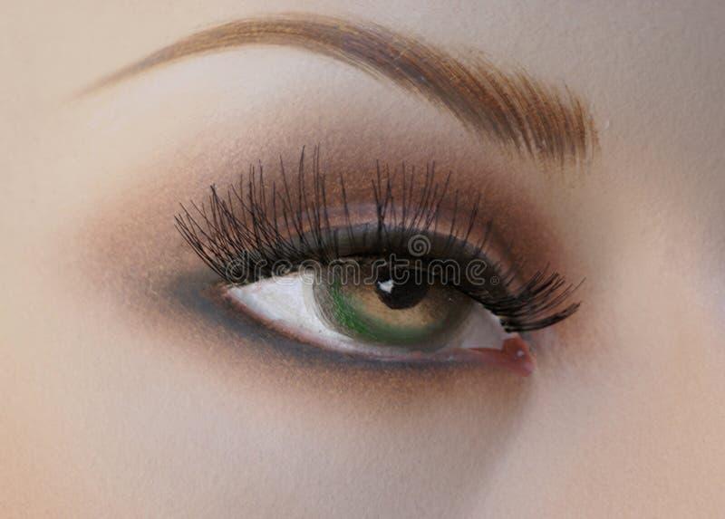 Mannequin's eye. stock photos