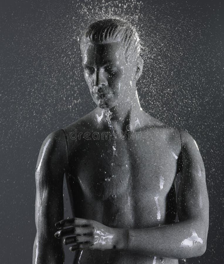 Mannequin Underwater Stock Photo