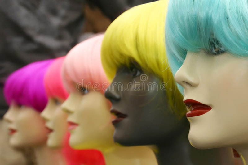 Download Mannequins stock photo. Image of glamor, model, hair, fashion - 2666780