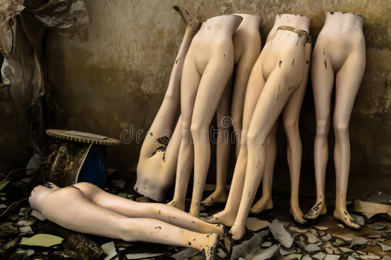mannequins photographie stock