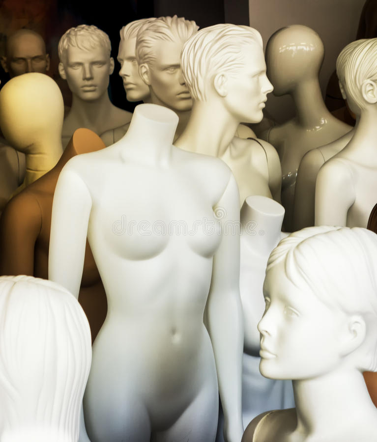 mannequins obrazy stock