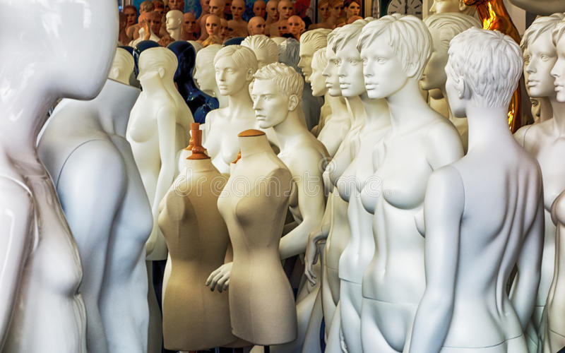 mannequins obrazy royalty free