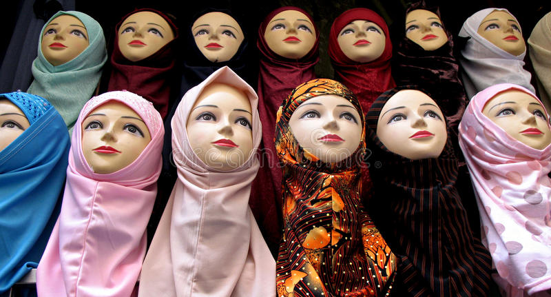 Mannequins stock image