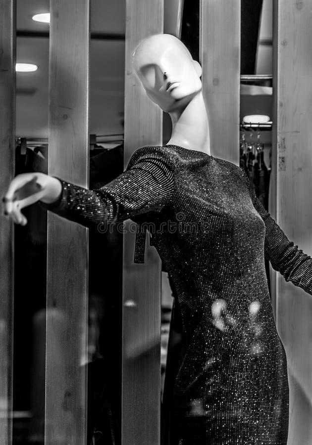 Mannequins dans les magasins poup?es image stock