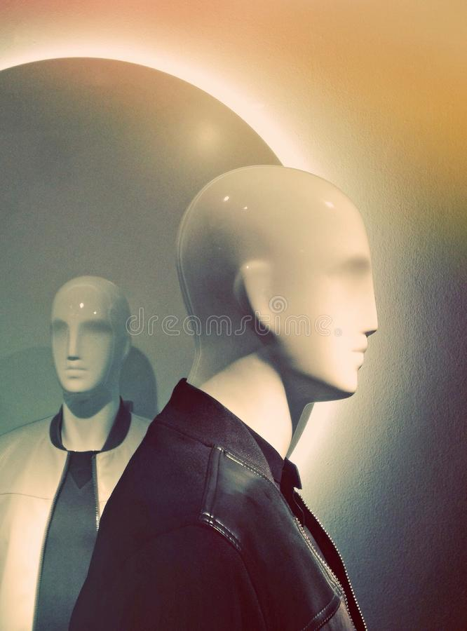Mannequins royalty free stock photography