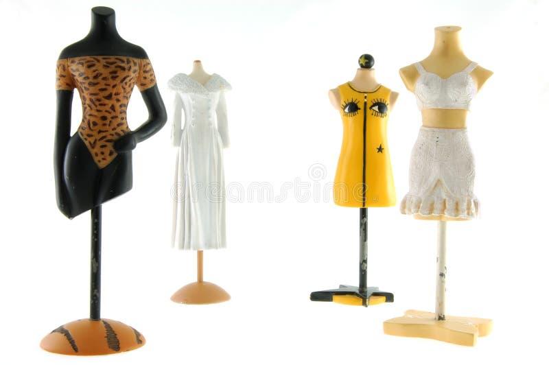 Mannequins fêmeas fotografia de stock