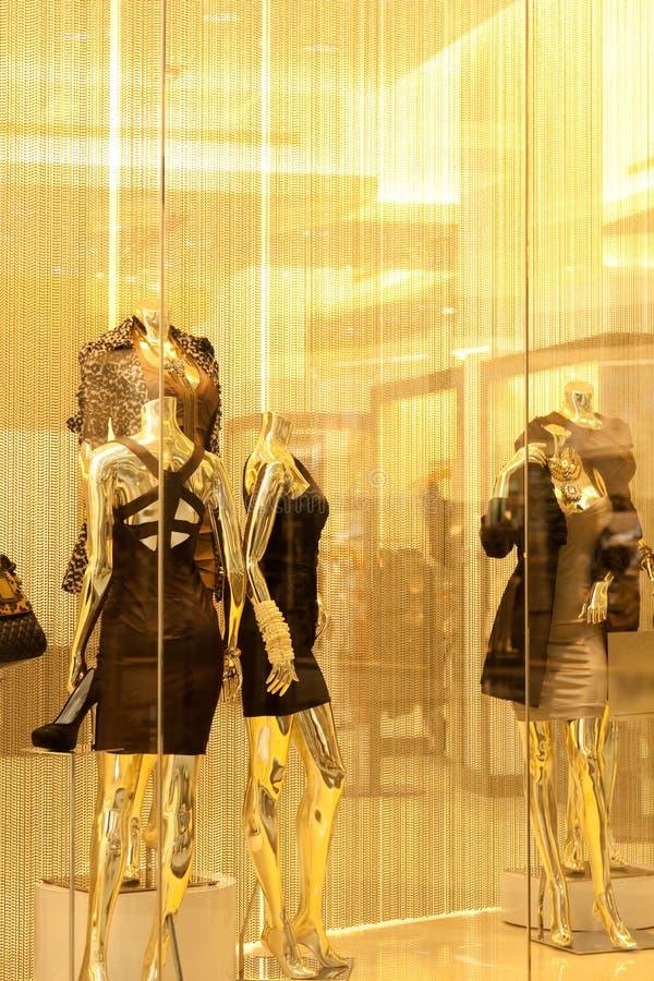 mannequins gablota wystawowa obrazy stock