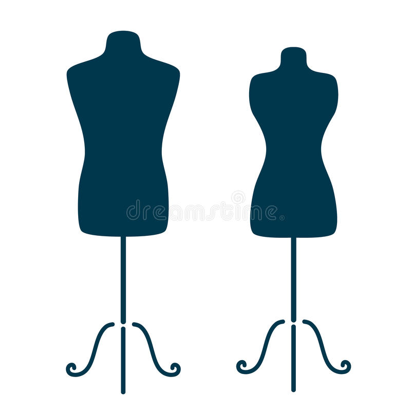 Mannequins Stock Vector - Image: 59263549