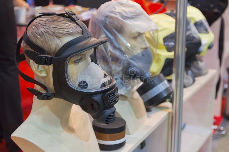 Mannequins z próbkami osobisty ochronny wyposażenie zdjęcie royalty free