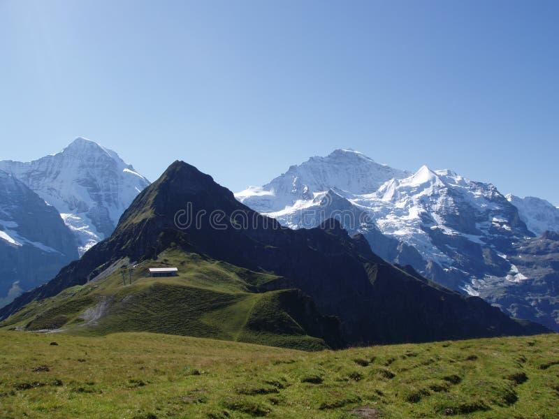 Mannlichen Suisse photographie stock libre de droits